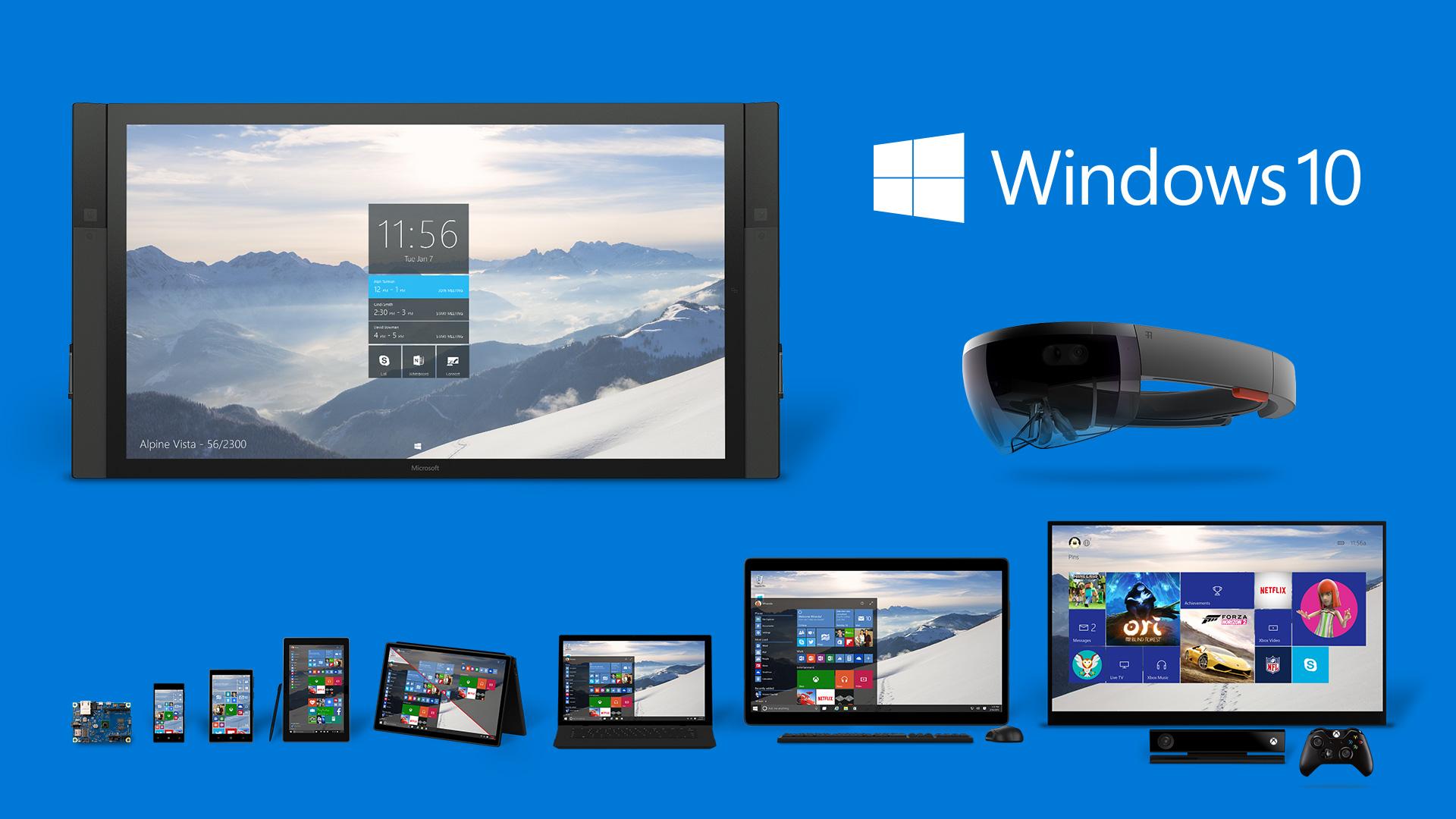 Windows 10 Sürüm ve Özellikleri